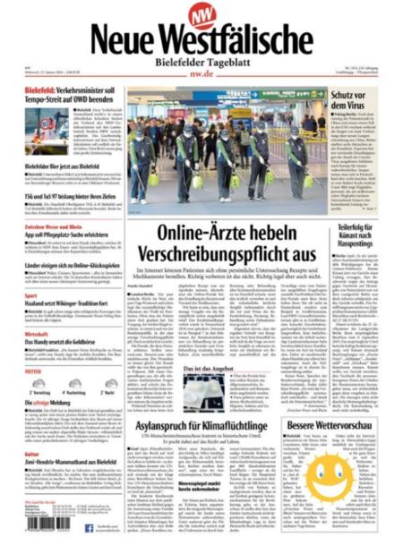 Bielefelder Tageblatt Mitte gratis probelesen