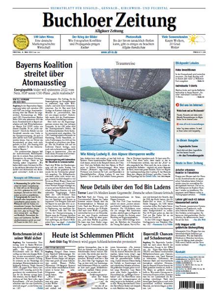 Buchloer Zeitung gratis probelesen