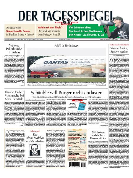 Der Tagesspiegel überregional gratis probelesen