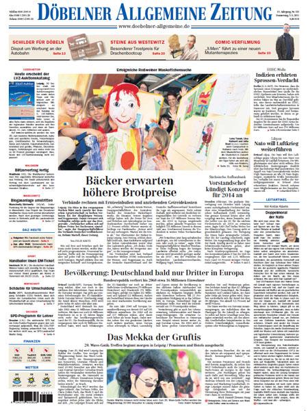 Döbelner Allgemeine Zeitung gratis probelesen