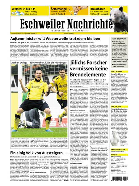 Eschweiler Nachrichten Unfall