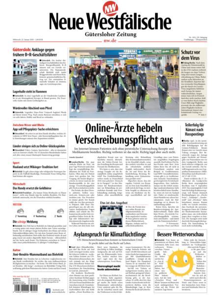 Gütersloher Zeitung gratis probelesen