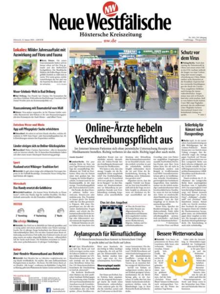 Höxtersche Kreiszeitung gratis probelesen
