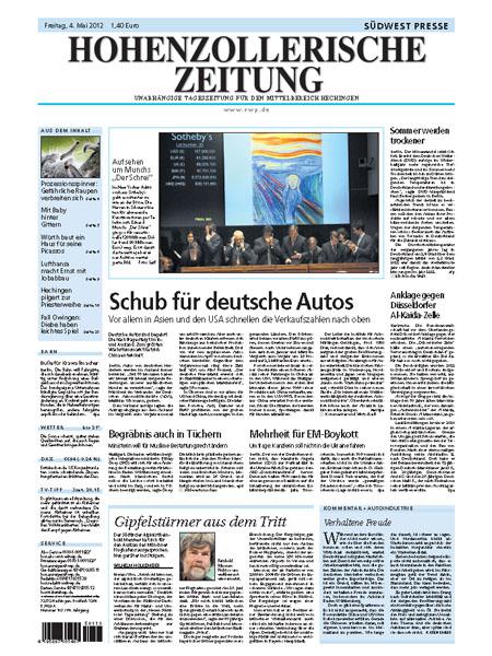 Hohenzollerische Zeitung
