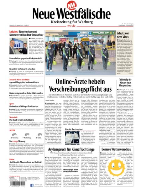 Kreiszeitung für Warburg gratis probelesen