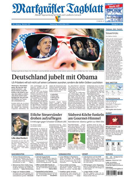 Markgraefler Tagblatt gratis probelesen