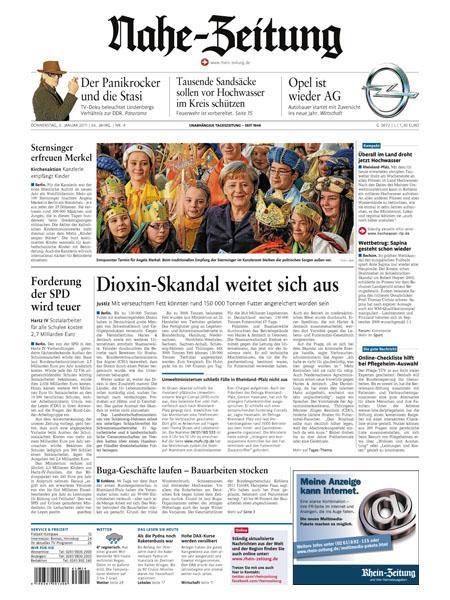 Nahe-Zeitung gratis probelesen