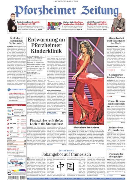 Www Pforzheimer Zeitung
