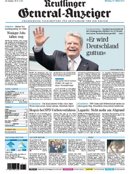 Reutlinger general anzeiger probeabo 4 wochen kostenlos testen for Reutlinger general anzeiger immobilien