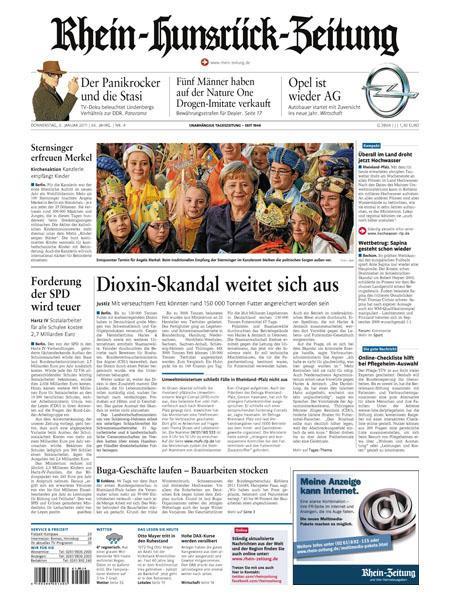 Rhein-Hunsrück-Zeitung gratis probelesen
