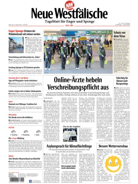 Tageblatt für Enger-Spenge gratis probelesen