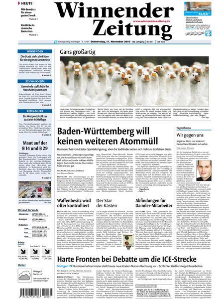 Winnender Zeitung