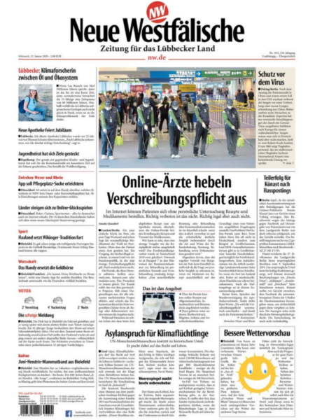 Zeitung für das Lübbecker Land gratis probelesen