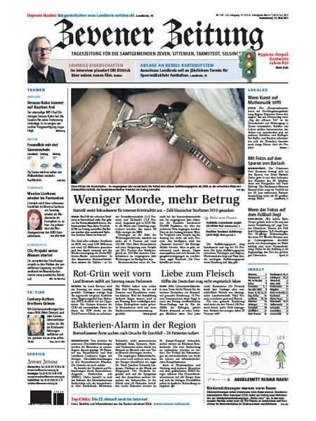 Zevener Zeitung gratis probelesen